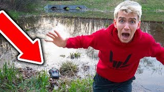 Download MONSTER IN POND!! (NEST FOUND) Video