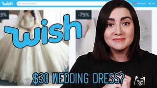 Download I Tried Wedding Dresses From Wish Video