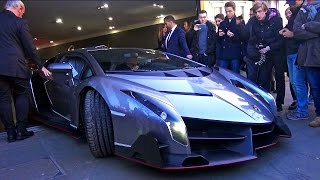 Download £4.5 MILLION Lamborghini Veneno Arrives in London! Video