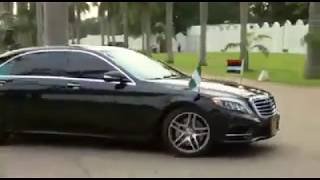 Download PMB Motorcade Inside The Aso Rock Villa From Airport Video