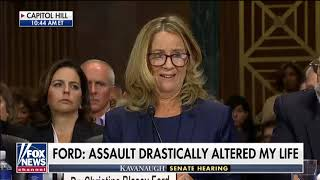Download Kavanaugh Accuser Ford Testifies Before Senate: 'I Believed He Was Going to Rape Me' Video