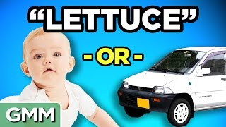 Download Celebrity Baby or Car Name (GAME) Video
