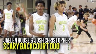 Download AAU's NEW SCARY DUO Jaelen House & Josh Christopher GO OFF at Nike EYBL Atlanta!!! Video