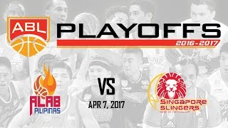 Download Alab Pilipinas and Singapore Slingers | ABL Livestream - Apr 7, 2017 Video