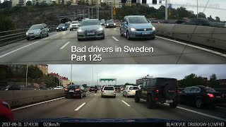 Download Bad Drivers in Sweden #125 Lane changers and tailgating Video