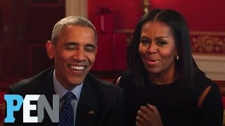 Download President Obama & Michelle Obama Answer Kids' Adorable Questions | PEN | Entertainment Weekly Video