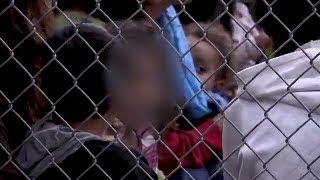 Download Video shows children inside a Texas Border Patrol detention center Video