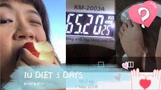 Download IU Diet 5 Days Video
