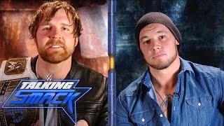 Download Dean Ambrose crosses the line during interview with Baron Corbin: WWE Talking Smack, Mar. 28, 2017 Video