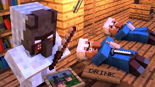 Download Granny vs Villager Life 2 - Granny Horror Game Minecraft Animation Alien Being Video