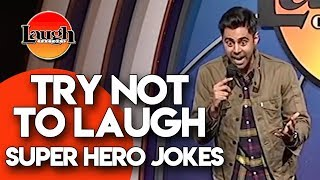 Download Try Not to Laugh | Superhero Jokes | Laugh Factory Stand Up Comedy Video