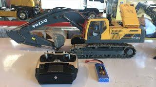 Download รีวิวรถขุดบังคับระบบไฮดรอลิค ราคา 94,000 บาท เหล็กทั้งคัน VOLVO EC360L ค่าย RC4WD สเกล 1/14 Video