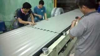 Download Dây chuyền sản xuất tôn PU 3 lớp - PHÚ SƠN INDUSTRIAL TECHNOLOGY,. LTD Video
