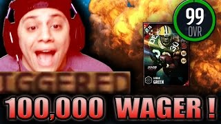 Download ALL THESE GAWD DAMN BAILOUTS! (99 AHMAN GREEN GAMEPLAY) - MADDEN 17 ULTIMATE TEAM Video