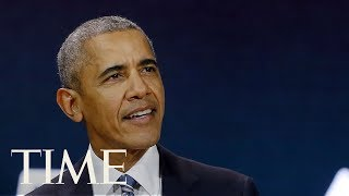 Download Former President Barack Obama Delivers Speech At 16th Nelson Mandela Annual Lecture | TIME Video