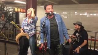 Download Miley Cyrus and Jimmy Fallon Surprise NYC Subway Performance 06/13/17 Video
