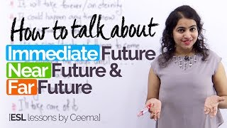 Download How to speak in English about the future? Advanced English Speaking practice lesson Video