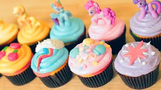 Download MY LITTLE PONY CUPCAKES - NERDY NUMMIES Video