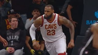 Download LeBron James Brings the Nets Crowd To Their Feet with Dunk On Joe Harris! Cavaliers vs Nets Video