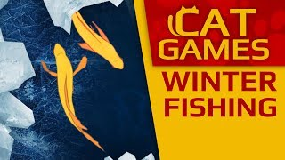 Download CAT GAMES - Winter FISHING (Entertainment videos for cats to watch) Video