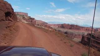 Download A White-Knuckle Drive On the Edge - The White Rim Road Video