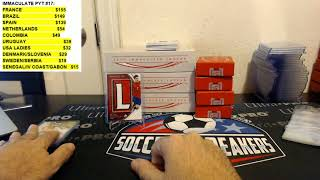 Download 2017-18 PANINI IMMACULATE SOCCER HOBBY 5 BOX CASE PYT BREAK #15, NOV 1, 2017 Video