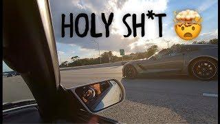 Download Corvette encounters 1489WHP Supra Video
