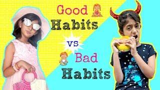 Download Good Habits vs Bad Habits | #ShrutiArjunAnand #Sketch #Fun #MyMissAnand Video