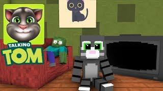 Download Monster School: My Talking Tom Challenge - Minecraft Animation Video