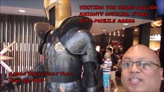 Download VISITING THE VEGAS GOLDEN KNIGHTS OFFICIAL STORE AT T-MOBILE ARENA Video