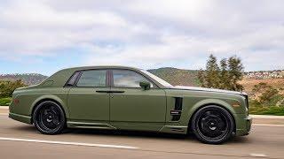 Download Modified Rolls Royce Phantom with $40k Wald Bodykit! Video