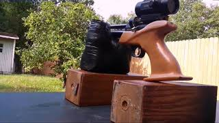 Loading mag and shooting SPA CP1m pistol Free Download Video MP4 3GP