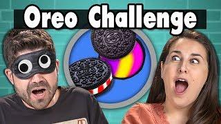 Download OREO CHALLENGE | People Vs. Food (ft. FBE Staff) Video