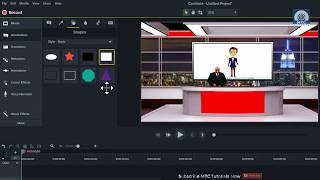 Download Creating Studio Desk In Camtasia | Working On Green Screen Video