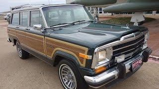 Download Final Edition Jeep Grand Wagoneer 4x4 1991 Video