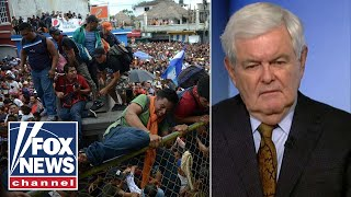 Download Gingrich: Caravan is an attack on US sovereignty Video