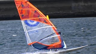 Download Windsurfers having a ″Rough day″ at Botany Bay Sydney Australia Video