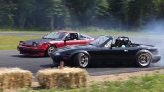 Download Turbo Miata Drifting - ALMOST TOTALED IT! Video