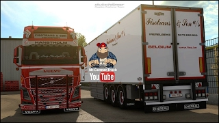 Download [ETS2 v1.26] Volvo FH16 540 Fisotrans v2 + Trailer Video