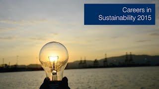 Download Careers in Sustainability 2015 Video