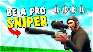Download 4 Ways to be a PRO SNIPER in 10 Minutes | Fortnite Advanced Tips and Tricks Video
