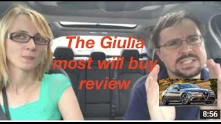 Download 2017 Alfa Romeo Giulia Review, chosing TI or Sport or AWD- bested the German sports sedans? Video
