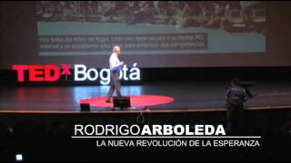 Download La Nueva Revolucion de la Esperanza: Rodrigo Arboleda at TEDxBogota Video