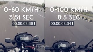 Download Yamaha FZ25 Top Speed Highway Run | 0-100 timings | RWR Video