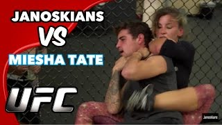 Download FIGHTING A CHAMPION WOMAN UFC FIGHTER (Miesha Tate) Video
