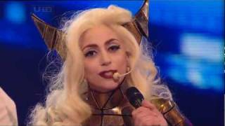 Download [HQ] Lady GaGa - Bad Romance [Live @ X Factor 2009] Intro & Interview Video