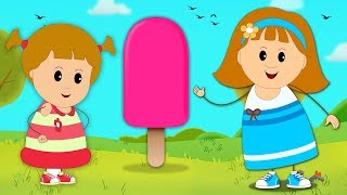 Download Aprender los Colores con Paletas Heladas 3D | Campo Infantil Video