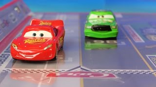 Download Disney Pixar Cars Track Set With Lightning McQueen Mater & Chick Hicks Takara Tomy Video