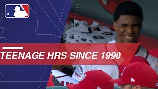 Download Teen ballplayers who have homered since 1990 Video