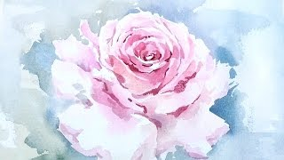 Download [LVL4] Watercolor Tutorial: How to paint a Rose wet on wet Video